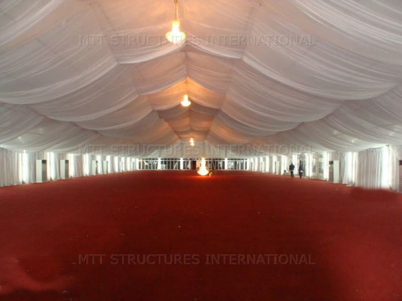 Draping-Alu-Hall Draping and Carpet