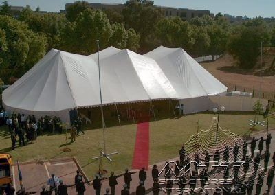 MTT Double King Pole Marquee (8)