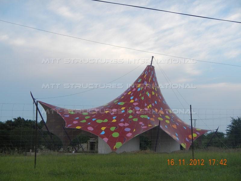 Tensile Structure - Africa Ignite
