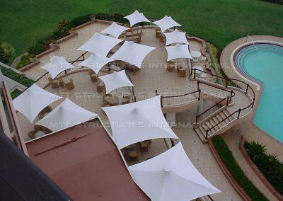 Umbrellas - Beverley Hills Hotel