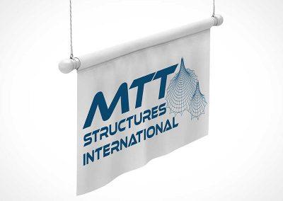marquee & tent branding - hanging banner
